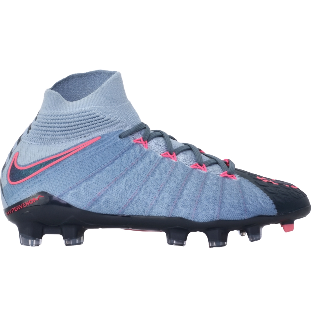 de2789975b5 ... Nike Youth Hypervenom Phantom III DF FG Soccer Cleats (Light Armory  Blue Armory Navy ...