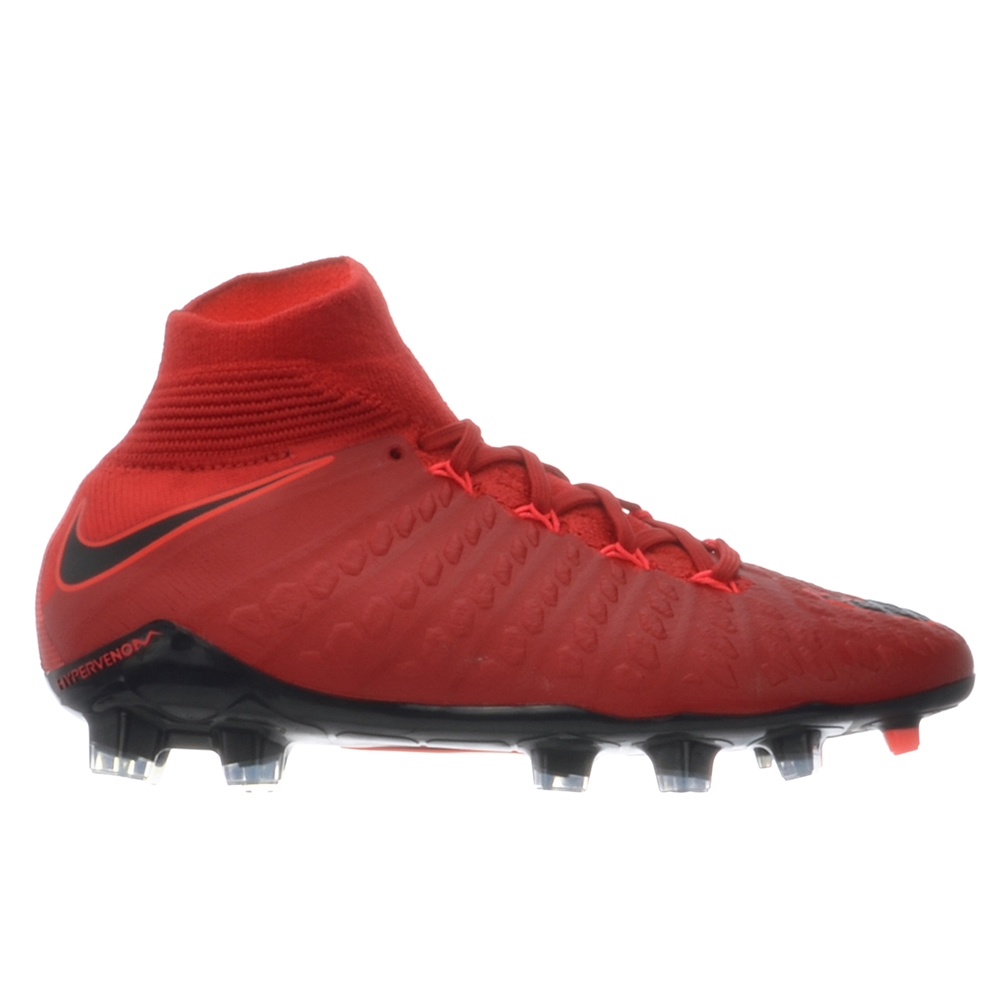 best service 06eaa 48707 Nike Youth Hypervenom Phantom III DF FG Soccer Cleats (University  Red/Black/Bright Crimson)