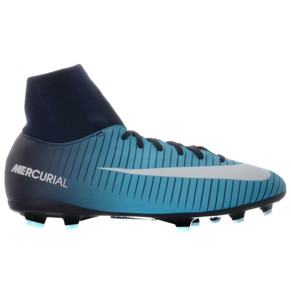 7ae5bb4d2 Nike Youth Mercurial Victory VI DF FG Soccer Cleats (Obsidian White ...