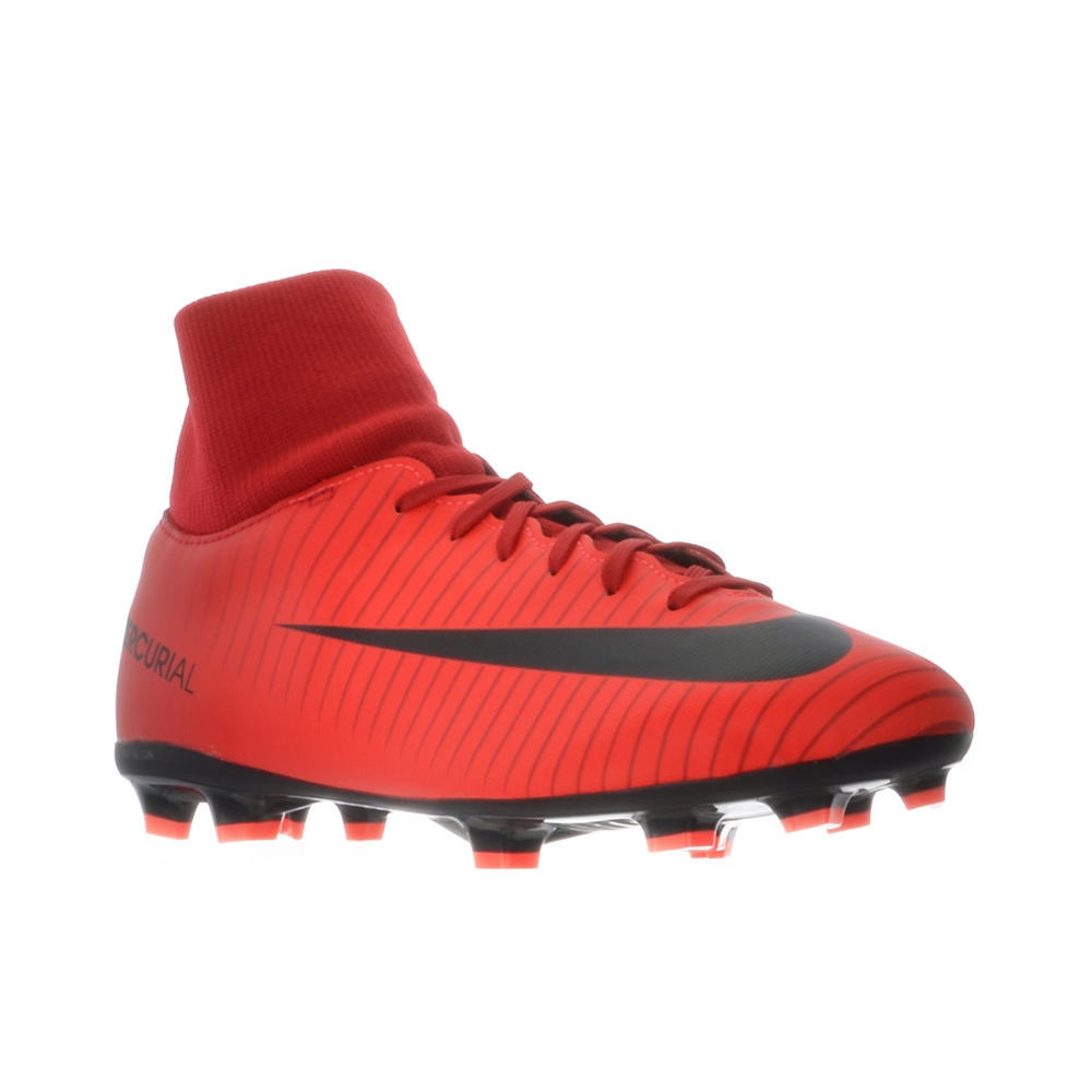 524f3099f Nike Youth Mercurial Victory VI DF FG Soccer Cleats (University Red ...