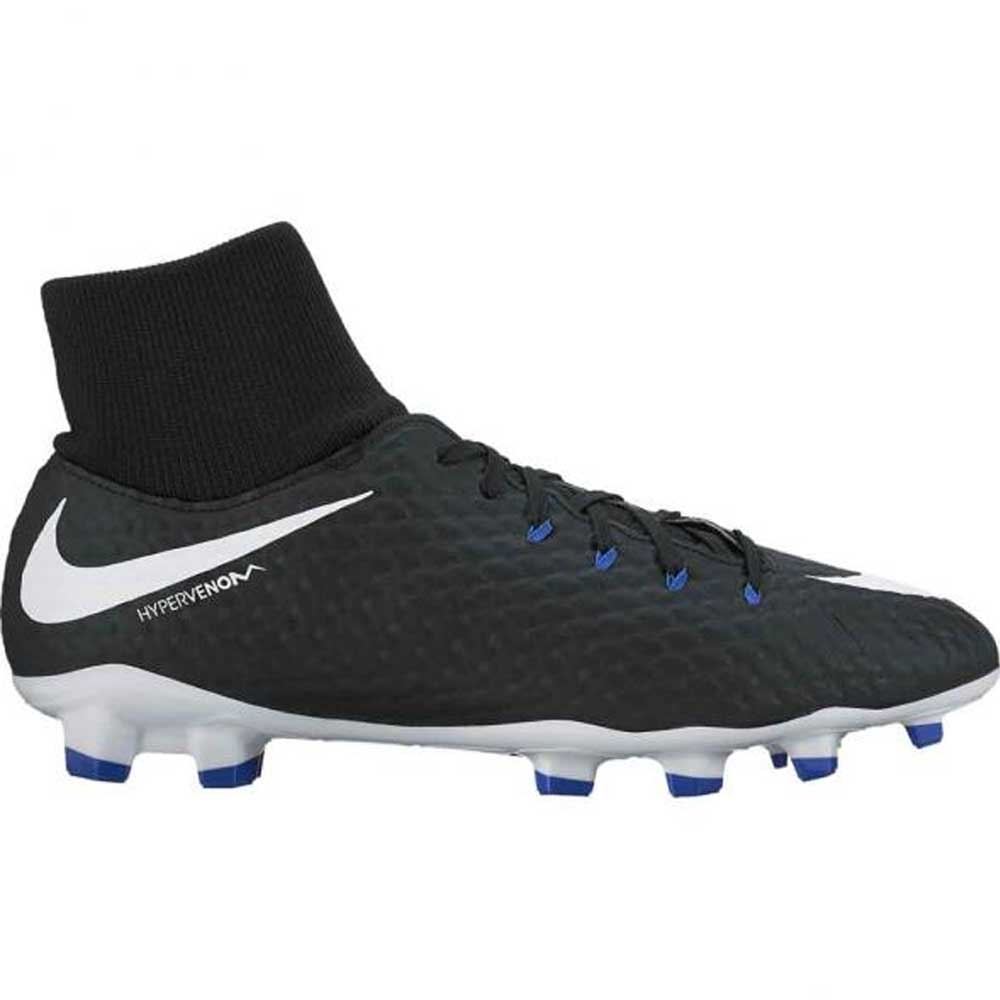 the latest 1e9ca 177e5 Nike Youth Hypervenom Phelon III DF FG Soccer Cleats (BlackWhiteGame  Royal)  Youth Soccer Cleats  917772-002  Nike Hypervenom Phantom III  Youth ...