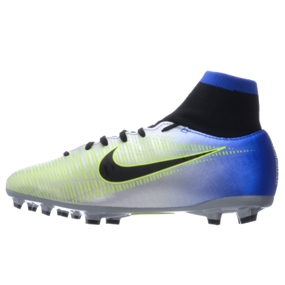 af46329b0fe Nike Neymar Youth Mercurial Victory VI DF FG Soccer Cleats (Racer Blue Black  Chrome Volt)