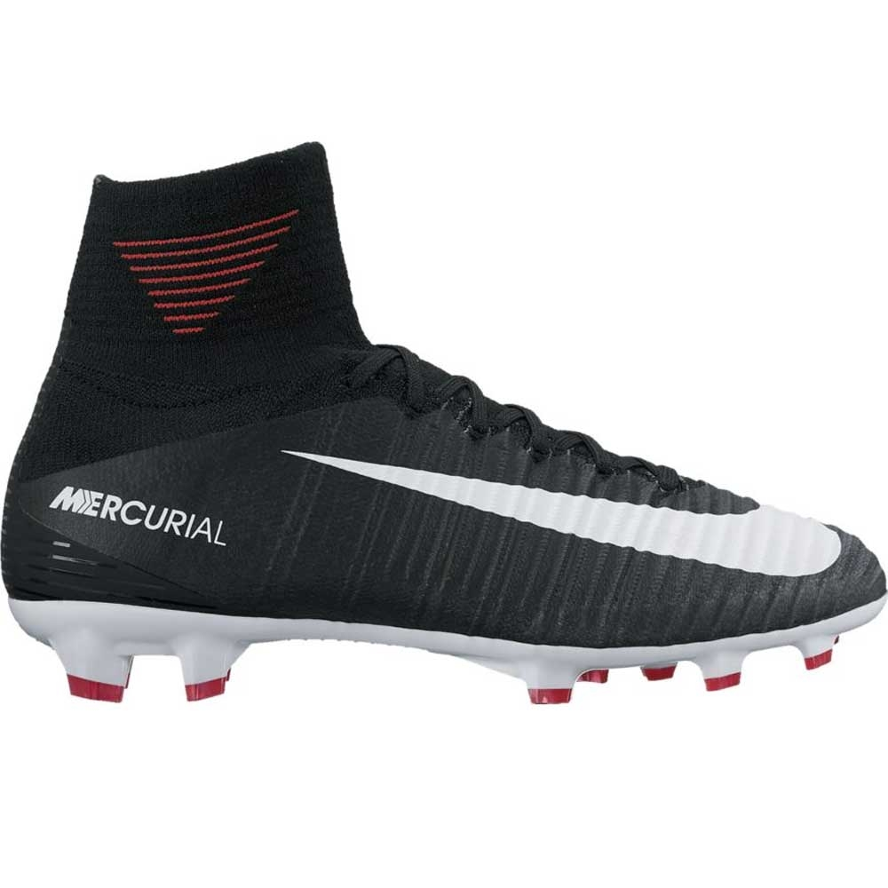 87d21c7de Nike Youth Mercurial SuperFly V FG Soccer Cleats (Black White Cool ...