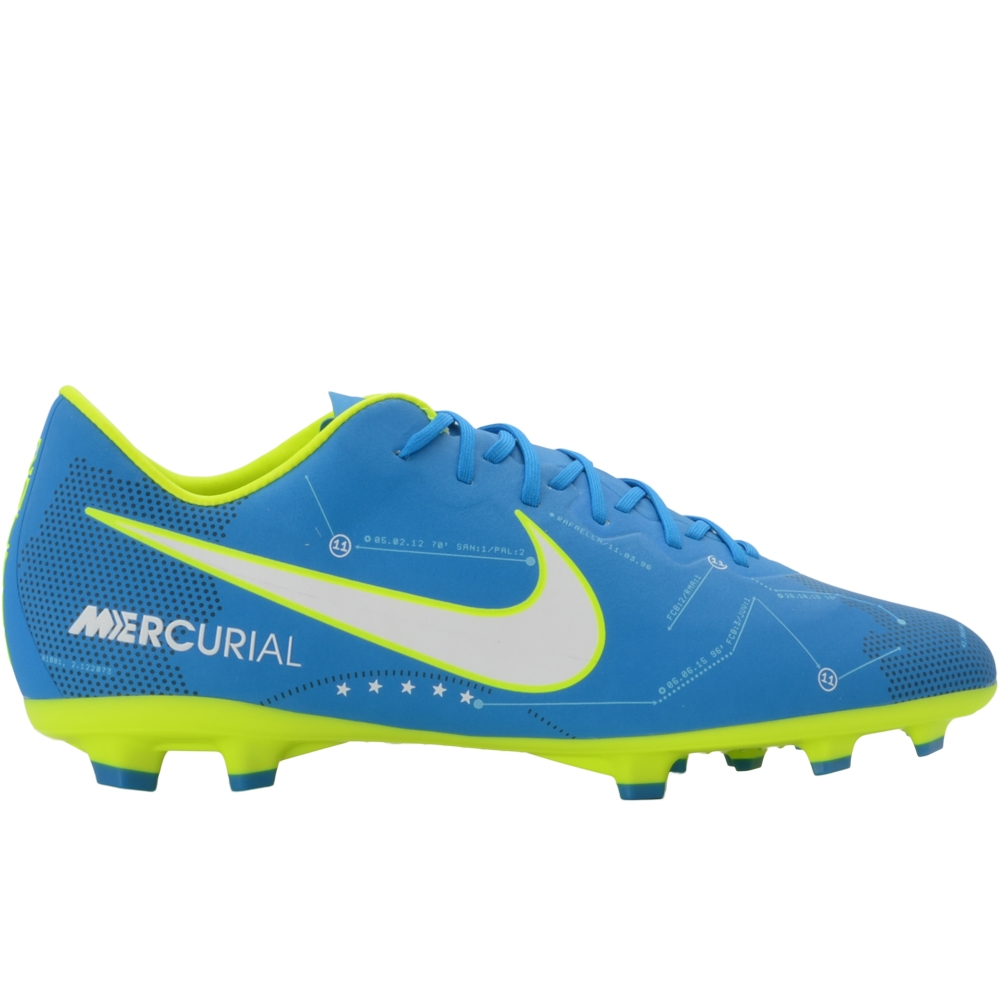 29d519070 Nike Youth Mercurial Vapor XI FG Neymar Soccer Cleats (Blue  Orbit/White/Armory Navy) | 940855-400 | Nike Soccer Cleats |  SOCCERCORNER.COM