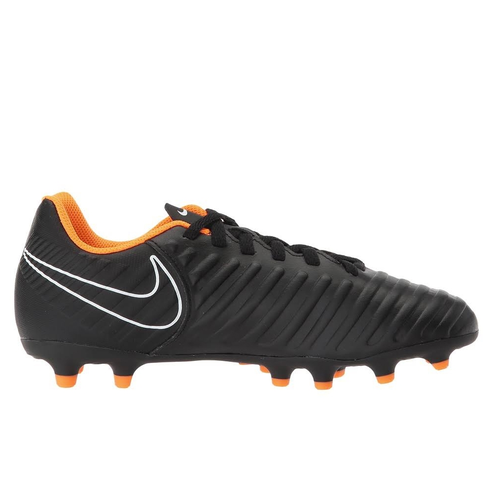 Nike Youth Tiempo Legend VII Club FG Soccer Cleats (Black Total ... 26abf7123