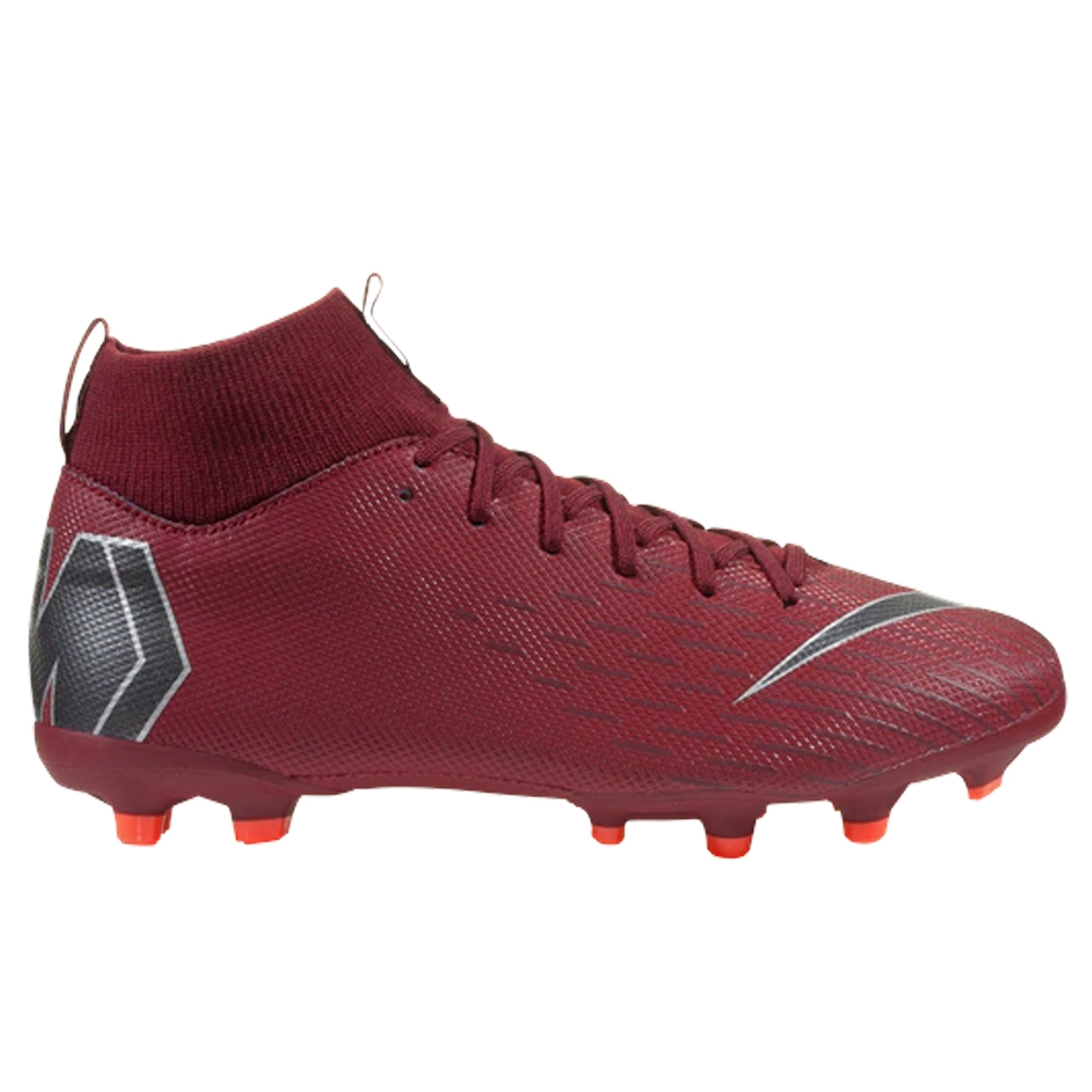 on sale 2b0a5 77883 Nike Youth Superfly VI Academy MG Soccer Cleats (Team Red/Metallic Dark  Grey/Bright Crimson)