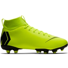 Nike Youth Superfly 6 Academy MG Soccer Cleats (Volt/Black)