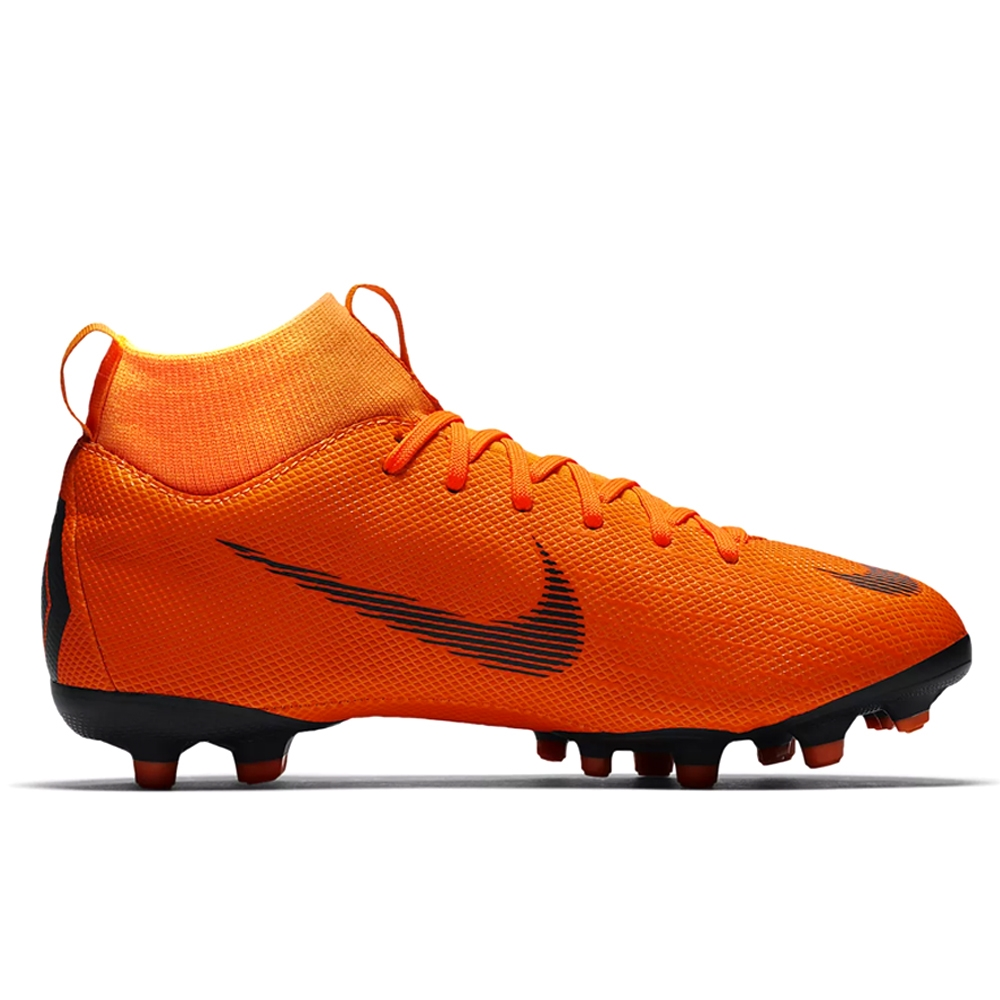 info for fd979 64bd6 Nike Youth Mercurial Superfly VI Academy FG / MG Soccer Cleats (Total  Orange/Black/Volt)