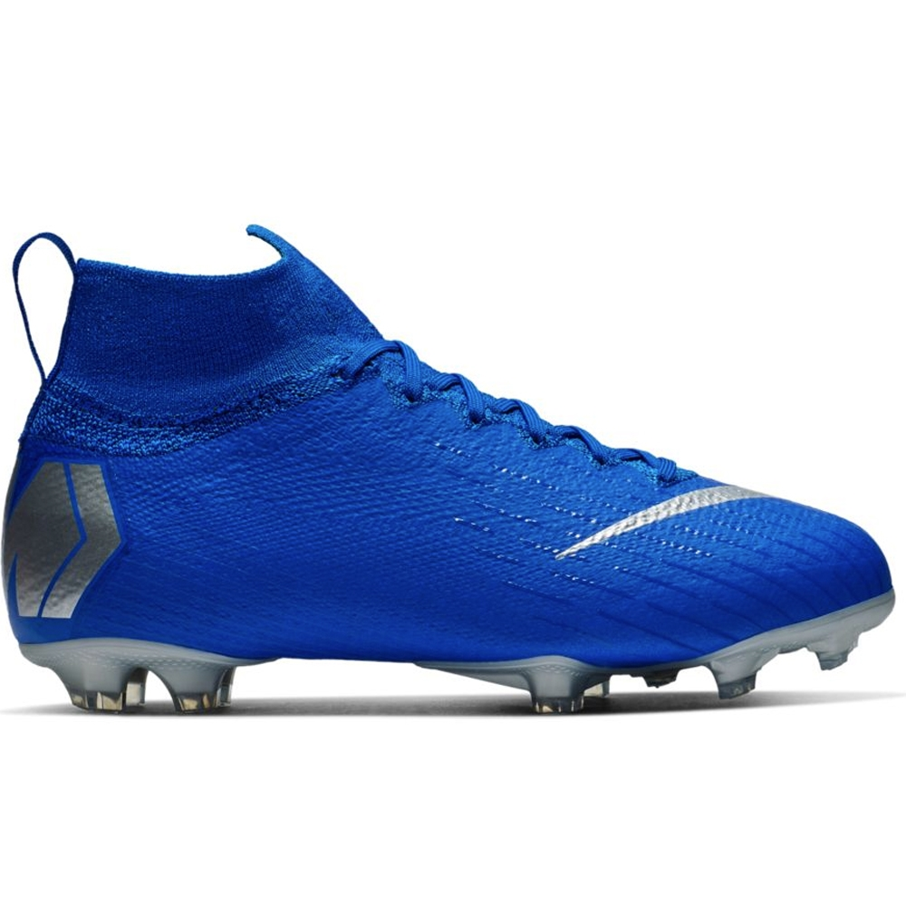 732f0e02f Nike Youth Superfly 6 Elite FG Soccer Cleats (Racer Blue/Metallic ...