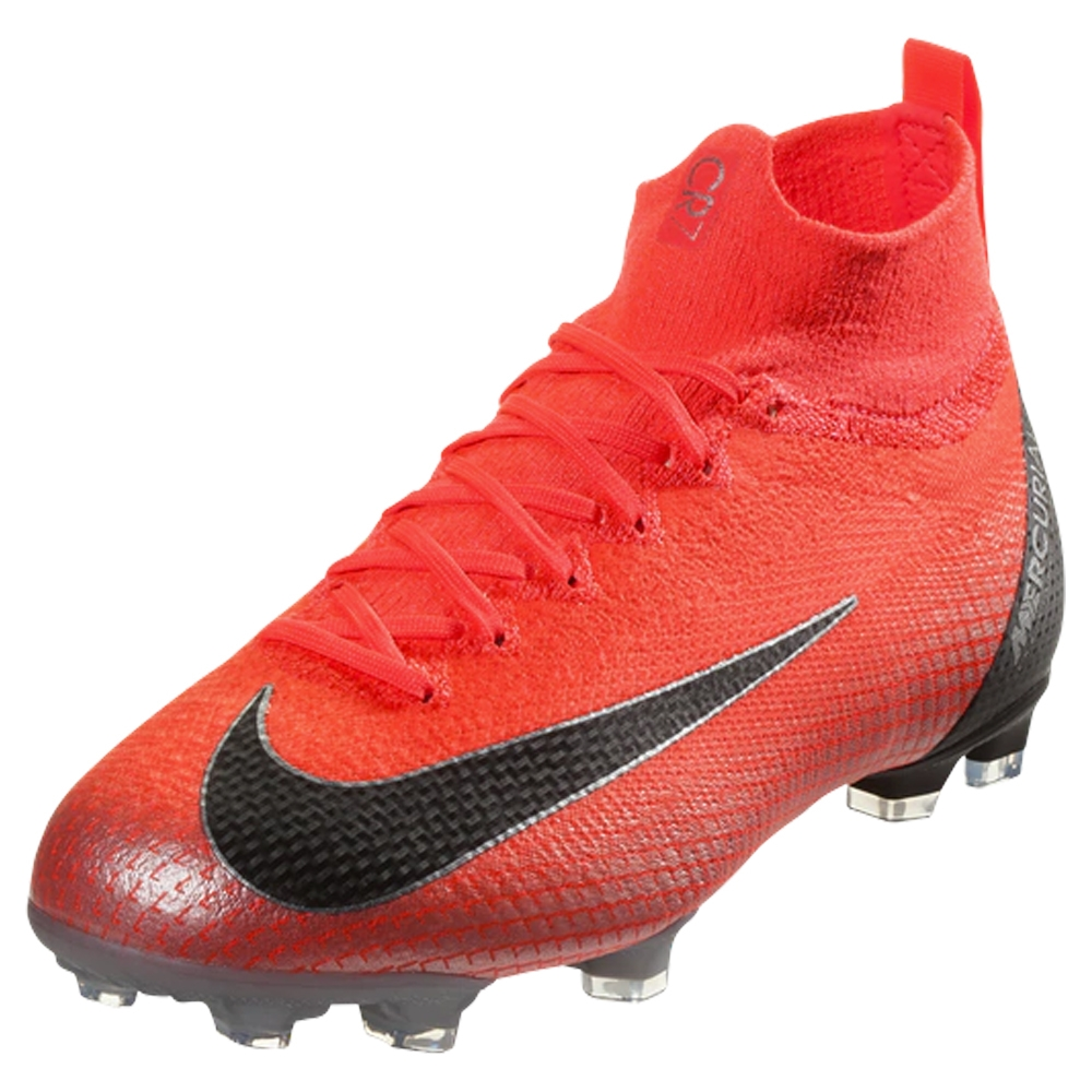 a3ccd0c13 Nike Youth Superfly VI Elite CR7 FG Soccer Cleats (Flash Crimson ...