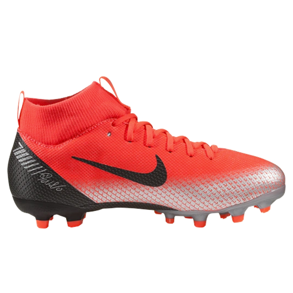 cdd325be901 Nike Youth Superfly VI Academy CR7 MG Soccer Cleats (Bright Crimson ...