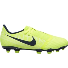 Nike Youth Phantom Venom Academy FG Soccer Cleats (Volt/Obsidian)