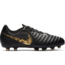 Nike Youth Legend 7 Club MG Soccer Cleats (Black/Metallic Vivid Gold)