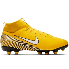 Nike Youth Neymar Superfly 6 Academy MG Soccer Cleats (Amarillo/White/Black)