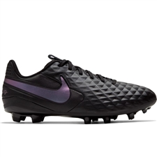 Nike Youth Tiempo Legend 8 Academy MG Soccer Cleats (Black)
