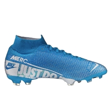 Nike Youth Superfly 7 Elite FG Soccer Cleats (Blue Hero/White/Obsidian)