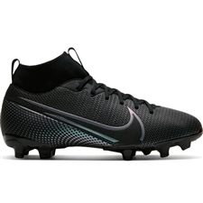 Nike Youth Mercurial Superfly 7 Academy MG Soccer Cleats (Black)