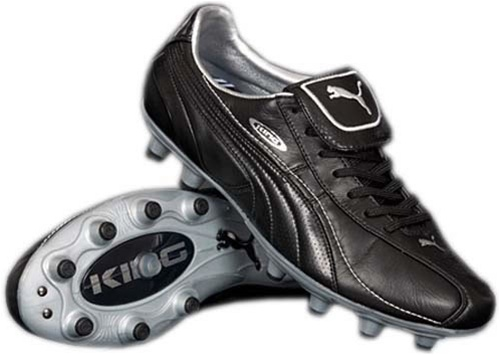 58.49 - Puma King XL i Firm Ground Jr Soccer Cleat (Black Black ... fda7bc34f