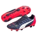 Puma evoPOWER 3.2 Youth FG Soccer Cleats (Peacoat/White/Bright Plasma)