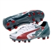 Puma evoSPEED 4.3 Graphic Youth FG Soccer Cleats (White/Sea Pine/Hi Risk Red)