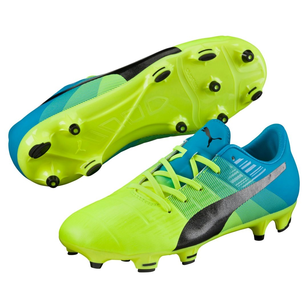 9c72ccb24a2f  89.99 - Puma evoPOWER 1.3 Youth FG Soccer Cleats (Safety Yellow ...