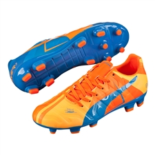 Puma evoPOWER 3.2 Tricks Youth FG Soccer Cleats (Orange Clown Fish/Electric Blue Lemonade)