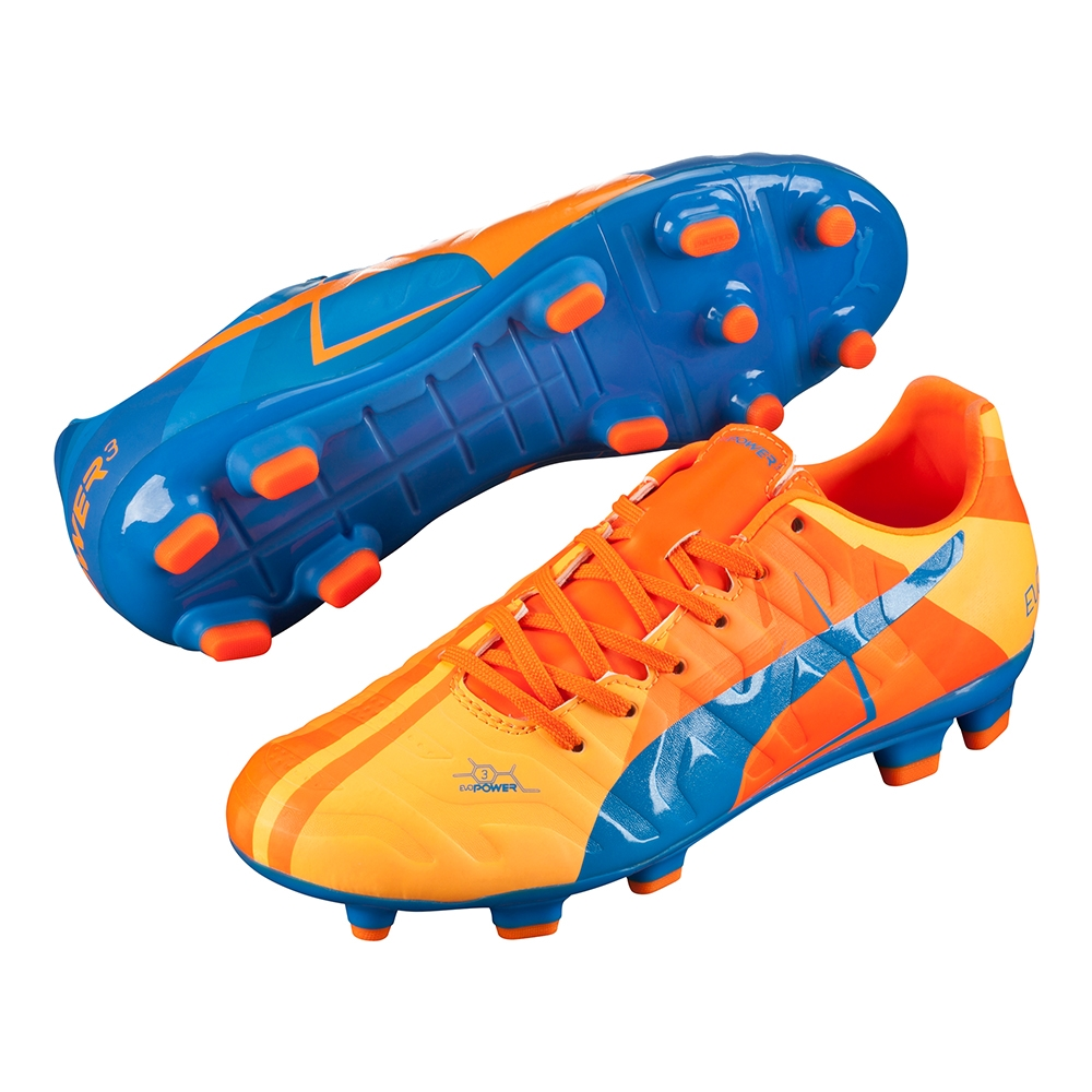 Puma evoPOWER 3.2 Tricks Youth FG Soccer Cleats (Orange Clown Fish ... 077fea91bddb