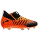 Puma Youth Future 2.1 Netfit FG (Black/Shocking Orange)