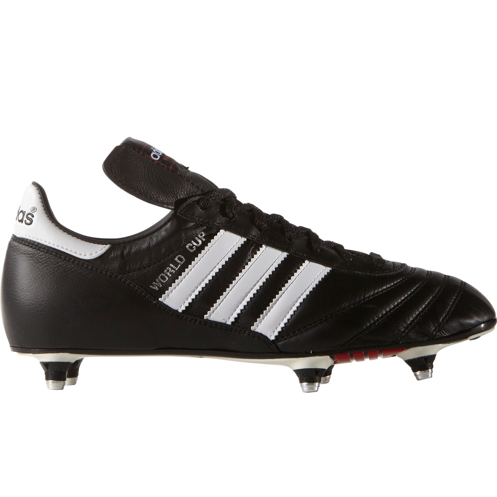 4046ad2f7 Adidas World Cup Soft Ground Soccer Cleats (Black White) -