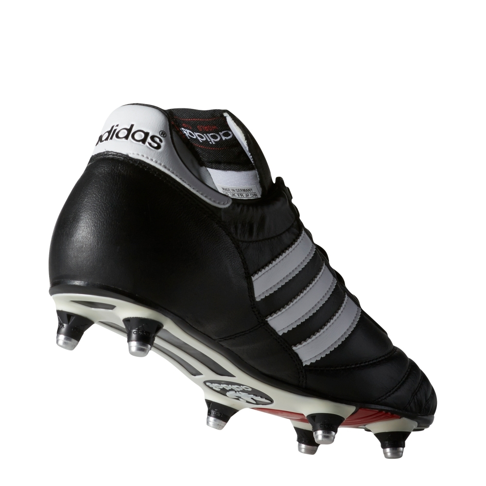 244859aa384 Adidas World Cup Soft Ground Soccer Cleats (Black White) -