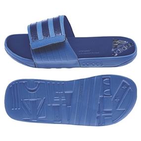 Adidas adissage Comfort Slides (Bright Royal/Collegiate Royal/White)