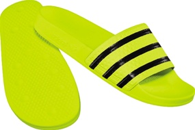 336e311f9 Adidas Originals Adilette Sandals (Electricity Black)