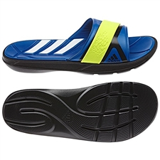 Adidas Men's Nitrocharge Slide Sandal (Black/Blue Beauty)