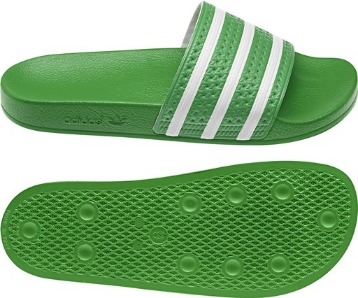 be7b129ed8accd  26.99 - Adidas Originals Adilette Sandal (IntenseGreen White ...