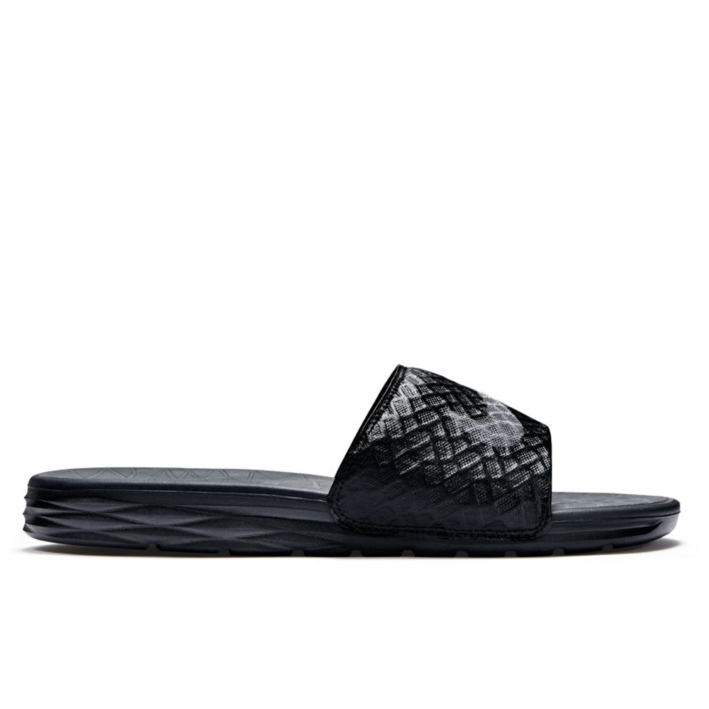 84b8cf8438967f Nike Men s Benassi Solarsoft 2 Slide (Black Anthracite)