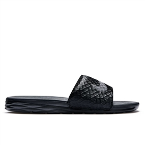 Nike Men's Benassi Solarsoft 2 Slide (Black/Anthracite)