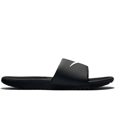 Nike Men's Kawa Slide Sandal (Black/White)