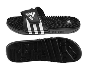 Adidas Youth adissage Slides (Black/White)