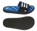 Adidas Youth Zeitfrei Slide K (Black/Metallic Silver/Prime Blue)