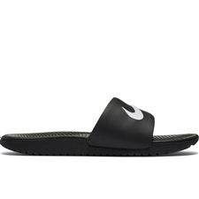 Nike Youth Kawa Slide Sandal (Black/White)