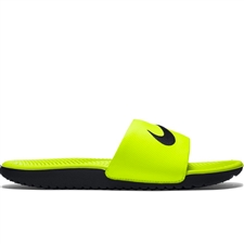 Nike Youth Kawa Slide Sandal (Volt/Black)