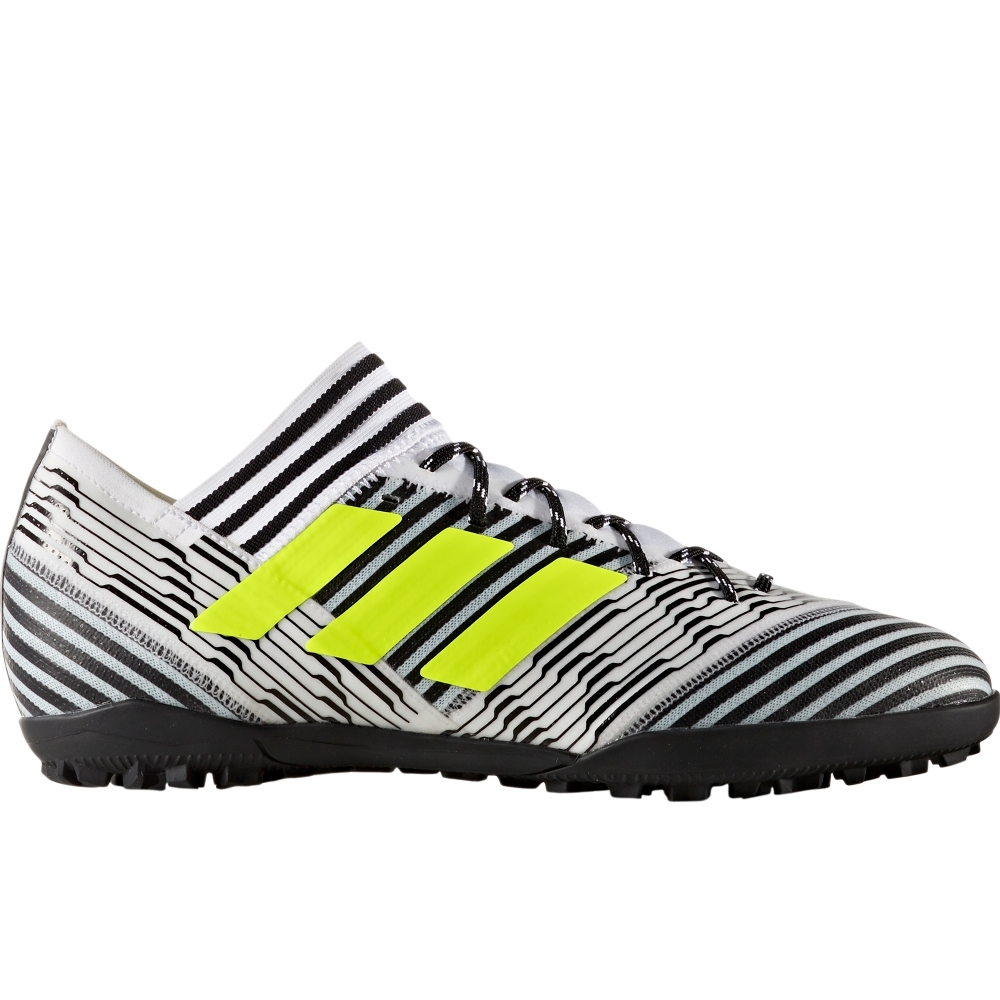 cb3a01e66fd4 Adidas Nemeziz Tango 17.3 TF Turf Soccer Shoes (White Solar Yellow Core  Black)