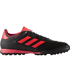 Adidas Copa Tango 17.3 TF Turf Soccer Shoes (Core Black/Solar Red)