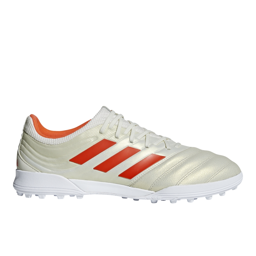 942f3921dae748 Adidas Copa 19.3 TF Turf Soccer Shoes (Off White Solar Red White)