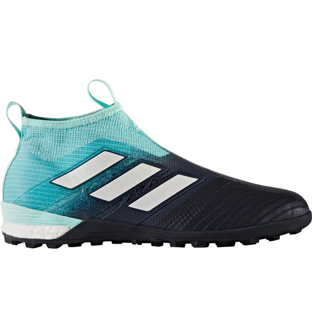 Adidas ACE Tango 17+ PureControl TF Turf Soccer Shoes (Energy AquaWhiteLegend Ink)