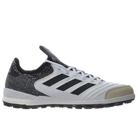Adidas Copa Tango 18.1 TF Turf Soccer Shoes (White/Core Black/Tactile Gold Metallic)