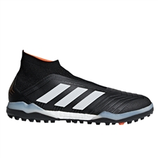Adidas Predator Tango 18+ TF Turf Soccer Shoes (Core Black/White/Solar Red)