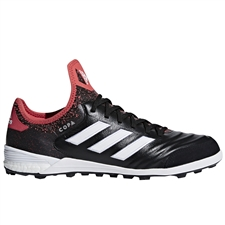 Adidas Copa Tango 18.1 TF Turf Soccer Shoes (Core Black/White/Real Coral)