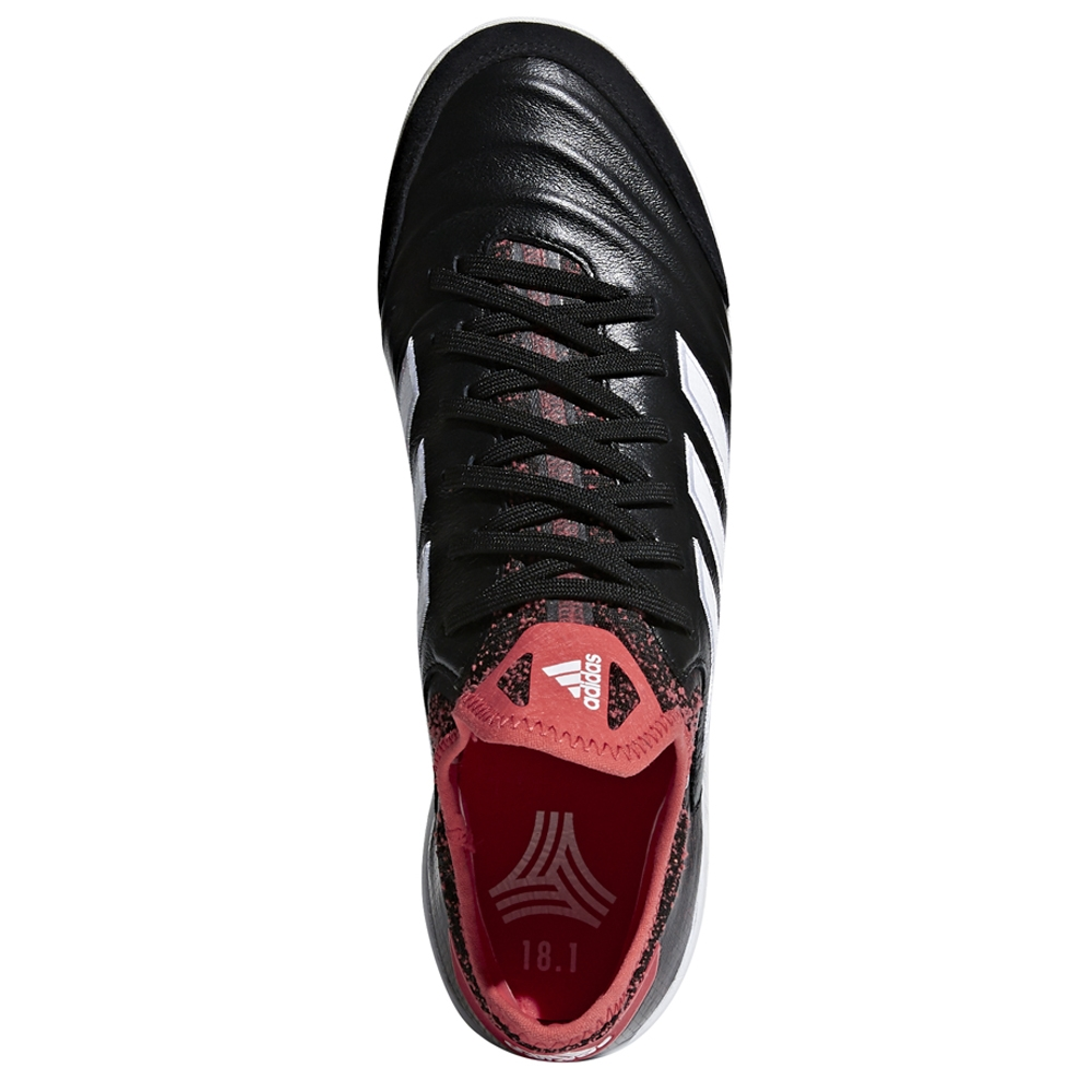 Adidas Copa Tango 18.1 TF Turf Soccer Shoes (Core Black White Real Coral) 64856d5d5