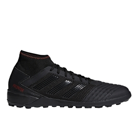 Adidas Predator 19.3 TF Turf Soccer Shoes (Core Black/Active Red)